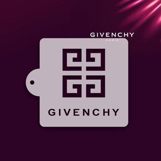 Трафарет бренда Givenchy