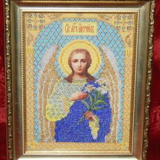 """Картина-икона """"Святой Архангел Гавриил"""""""