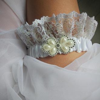 """Подвязка невесты """"Соблазнительная"""""""