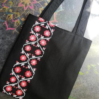 Эко сумка, шоппер Орнамент