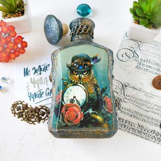 "Бутылка подарочная ""Мистер Сова"""