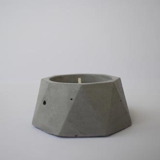 Бетонный подсвечник. Подсвечники из бетона, бетонные подсвечники