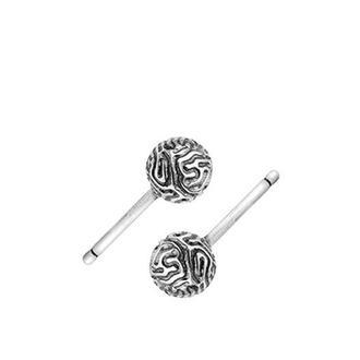 Серебряные серьги гвоздики CORAL FAVIDA