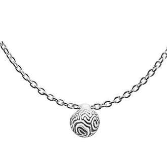 Серебряное колье coral Favida