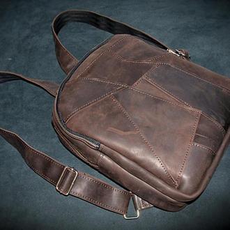 Женский рюкзак Meinbag TreeBark T1 из натуральной кожи