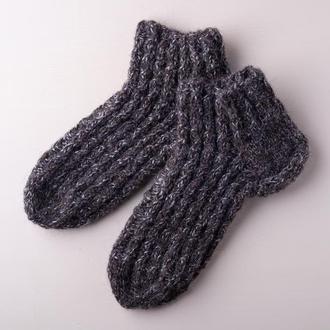 Вязанные шкрстяные носки (женские)