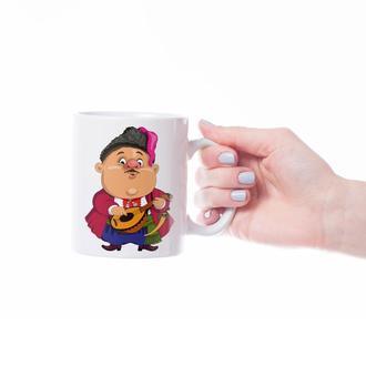 """Чашка с принтом """"Украинские герои"""""""