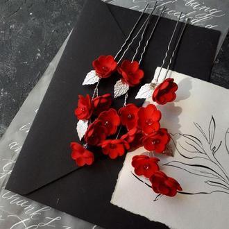 шпилька в волосы шпилька в прическу шпилька для невесты Аксессуары для причесок