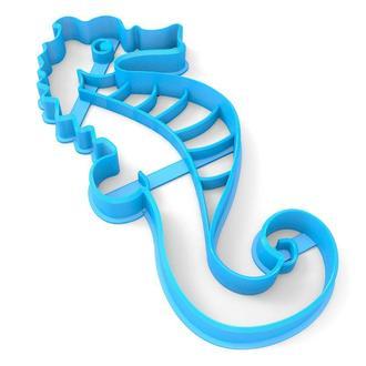 6827 Вырубка для пряников Морской конёк