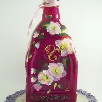 Бутылка пурпурная