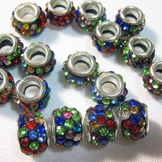 Бусины для браслетов в стиле Пандора Шамбала