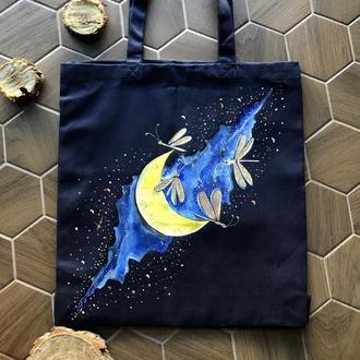 Хлопковая эко сумка (авоська,тканевая сумка)