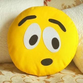 Подушка-смайлик Emoji #17 Удивленный