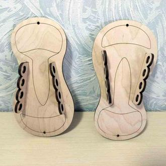 шнуровка заготовки для бизиборд бизикуб кеда