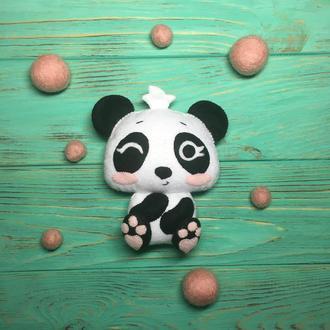 Игрушка из фетра Панда