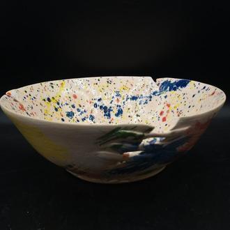 миска керамическая большая