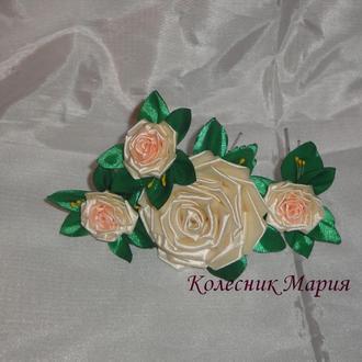 Набор шпилек Розы, 4шт