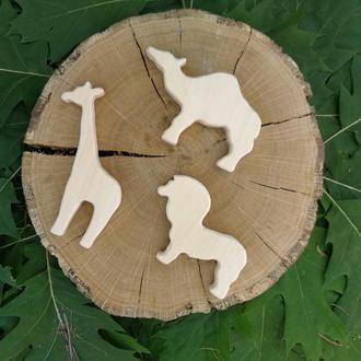 """Набор деревянных игрушек """"Африка"""""""