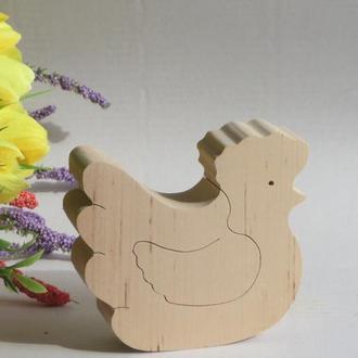 """Дерев""""яна іграшка """"Курочка"""" Деревянная игрушка """"Курочка"""" для развития и учебы. Вальфорфская игрушка"""