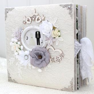 Большой шикарный свадебный фотоальбом + медовый месяц