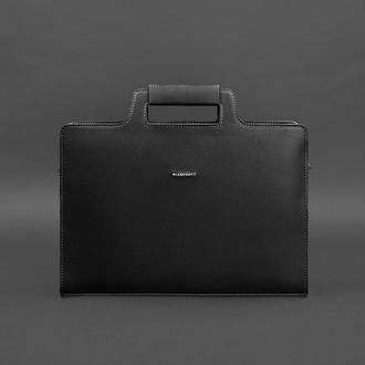 Сумка для ноутбука и документов графит – черная