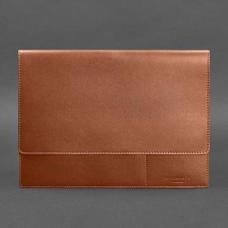 Папка для документов А4 (на магнитах) Коньяк - коричневая