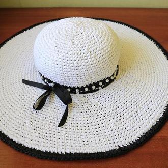 Шляпа с жемчугом