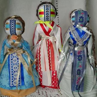 кукла мотанка- без использования иглы- украинский сувенир оригинальный подарок сильный оберег