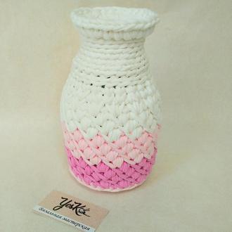 Ваза на подарок, ваза для живых цветов