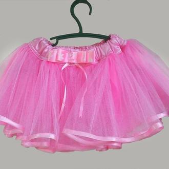 детская фатиновая юбочка