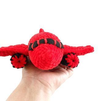Самолет плюшевый  Подарок для ребенка
