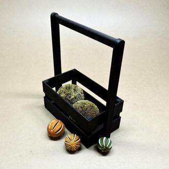 "Подарочная корзинка ""Тилтон 15х26"" венге"