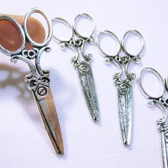 Металлическая фурнитура- подвеска ножницы стиль античный