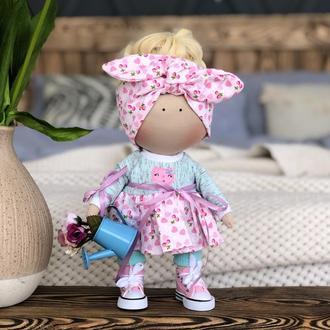 Текстильная кукла Солоха