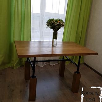 Стол обеденный Steel&wood# 1