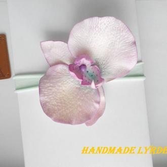 Повязка для девочки с нежной орхидеей