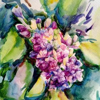 Сирень картина Картины цветы Красивые цветы картина Живопись цветы Цветы в живописи Картины на стену