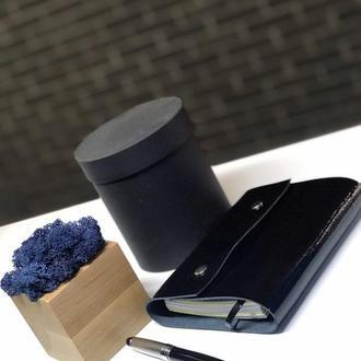Лаковый софтбук со сменным блоком планер ежедневник