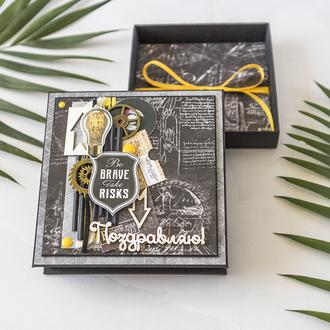 Коробочка для денег, подарочная коробка, подарок на день рождения