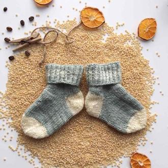 Дитячі носочки в одну товсту нитку