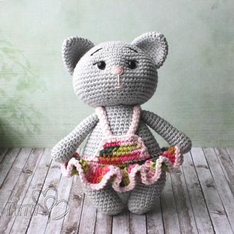 Кошечка в платье Подарок девочке
