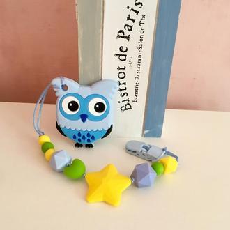 Силиконовый грызунок для детей, прорезыватель зубов, силіконовий гризунок, прорізувач зубів