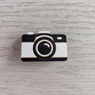 Значок «Черно-белый фотоаппарат»