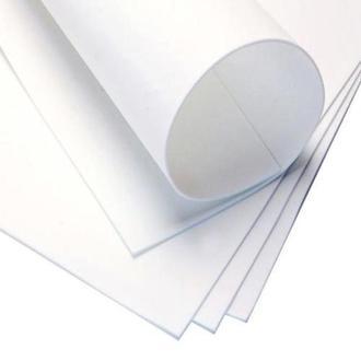 Фоаміран 60х70см, 0.6-0.8мм - 1.2мм білий