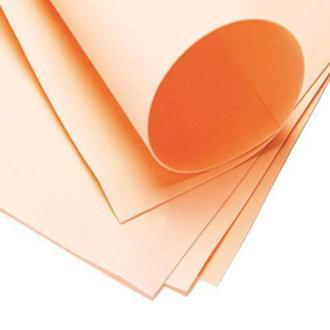 Фоаміран 60х70см, 0.6-0.8мм - 1.2мм персиковий