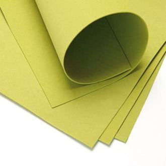 Фоаміран 60х70см, 0.6-0.8мм - 1.2мм оливковий