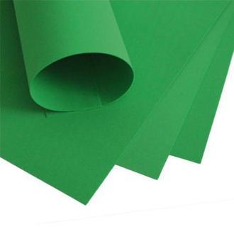 Фоаміран 60х70см, 0.6-0.8мм - 1.2мм лимонно-зелений