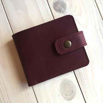 Женский кошелек  из натуральной кожи Goose™ G0030 марсала