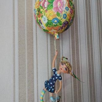 Кукла интерьерная  Пеппи
