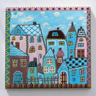 Керамическая декоративная плитка